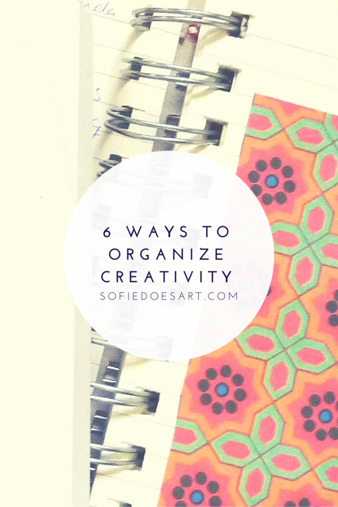 6 Ways to Organize Inspiration
