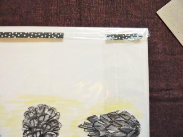 washi tape decoration