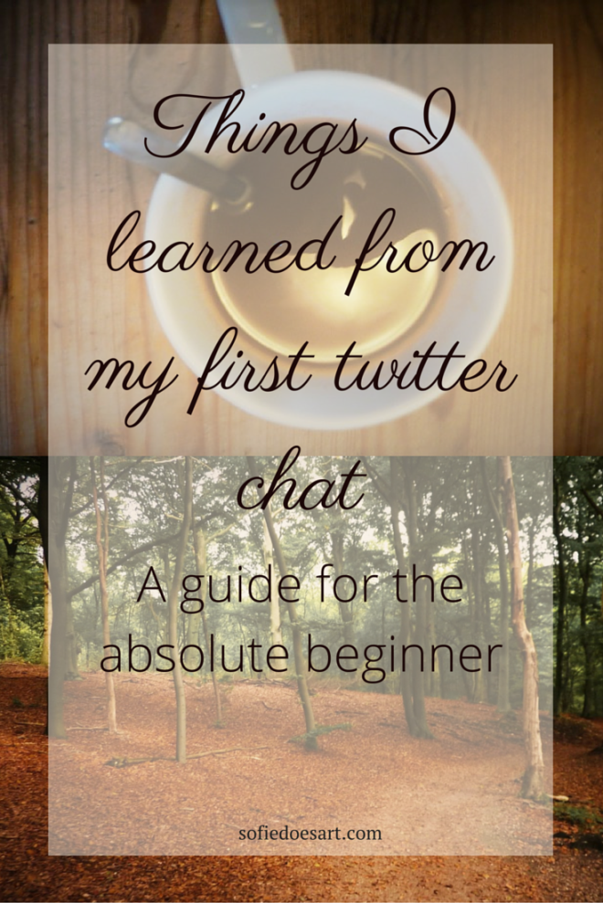 A guide to twitter chats for the absolute beginner, what I learned from my first twitter chat.